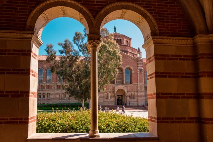 UCLA Campus, Westwood Village.Spanisch Revival