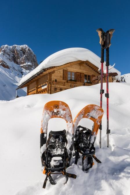 De Rossalm is een gezellige pleisterplek voor toerskiërs en sneeuwschoenwandelaars